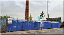 J3273 : The Monarch Laundry site, Belfast by Albert Bridge