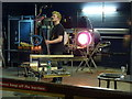 SJ5195 : Glass blowing demonstration at the World of Glass, St Helens by Alexander P Kapp