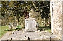 TQ1328 : Tomb, Church of St Nicholas, Itchingfield by N Chadwick