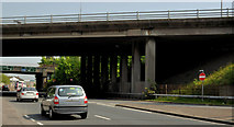 J3479 : Flyover, Greencastle, Belfast (1) by Albert Bridge