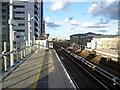 TQ3880 : East India DLR station by Marathon