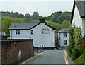 SN9584 : Mount Lane, Llanidloes by Andrew Hill