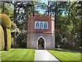 TQ9457 : Folly Walk, Doddington Place Gardens by Paul Gillett