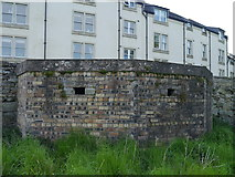 NT7233 : Pillbox At Kelso Bridge by James T M Towill