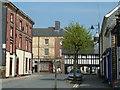 SN9584 : Short Bridge Street, Llanidloes by Andrew Hill