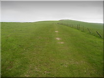 TQ4605 : South Downs Way near Firle Bostal by Chris Heaton