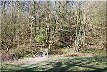 TQ1328 : West Sussex Literary Trail enters Bashurst Copse by N Chadwick