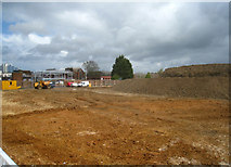 SU6351 : Construction site between Southern and New Road by Sandy B