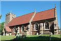 SO7126 : St Anne's church, Oxenhall by Julian P Guffogg
