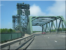NZ4719 : The Newport Bridge carrying the A1032 over the River Tees by peter robinson