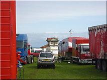 NT6779 : Coastal East Lothian : The Pavilion at Winterfield Park, Dunbar by Richard West