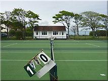 NT6779 : East Lothian Townscape : Winterfield Park Tennis Courts, Dunbar by Richard West
