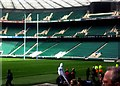 TQ1574 : Twickenham stadium - Cup finals day by Ed of the South