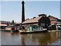 SJ4077 : Bantam Tug at the National Waterways Museum by David Dixon