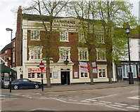 SO9490 : Grade II listed Source Bar At The Saracens, Dudley by Jaggery