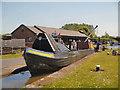 SJ4077 : Lock Demonstration at Ellesmere Port by David Dixon