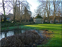 SU1070 : Avebury - Village Pond by Chris Talbot