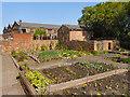 SJ4077 : The Kitchen Garden, Porter's Row by David Dixon