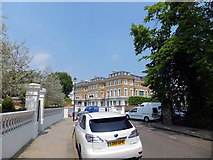TQ2678 : Looking toward Bolton Place, Chelsea by PAUL FARMER