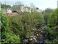 SO1107 : River Rhymney, Rhymney by Robin Drayton
