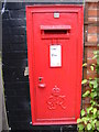 TG5200 : Hopton Post Office George VI Postbox by Adrian Cable