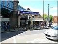 TQ2484 : Entrance to Kilburn tube station, London NW6 by Jaggery