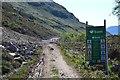 NC2334 : Site regulations, track to Maldie Burn hydro by Jim Barton