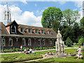 SP9912 : The  Monks Barn and the Monks Garden, Ashridge House by Chris Reynolds