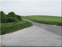 TQ2708 : Car park entrance by the Devil's Dyke Road turn off by Dave Spicer