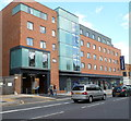 TQ2385 : Travelodge and Tesco Express, Cricklewood Broadway, London NW2 by Jaggery