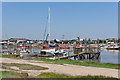 TM4975 : Part of Southwold Harbour on the River Blyth by Peter Facey