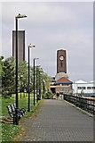 SJ3290 : Clock Tower, Seacombe by El Pollock