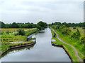 SJ6899 : Bridgewater Canal, Marsland Green by David Dixon
