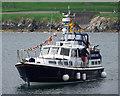 J5082 : The 'Seaward Spirit' at Bangor by Rossographer