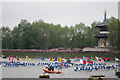 TQ2777 : Commonwealth sea cadet boats, Jubilee Pageant by Oast House Archive