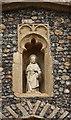TL9666 : St Andrew, Norton - Niche by John Salmon