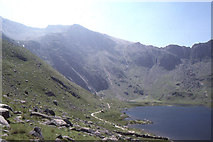 SH6459 : Looking up Cwm Idwal by Christopher Hilton