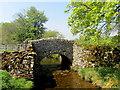 SD8466 : Stone Bridge over Cowside Beck by Chris Heaton