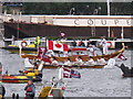 TQ2777 : Diamond Jubilee Pageant - Canadian canoe, gondola by David Hawgood