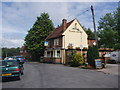TL2201 : The Black Horse Pub, South Mimms by Bikeboy