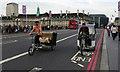 TQ3079 : London - Rickshaws by Chris Talbot