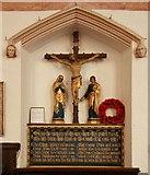 TL9568 : St George, Stowlangtoft - War Memorial WWI by John Salmon