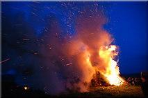 SJ3200 : Jubilee Beacon near Bromlow Callow by Dave Croker