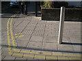 SP2054 : Tactile paving, Chapel Lane/Waterside by Robin Stott