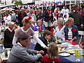 TQ0747 : Shere Street Party by Colin Smith