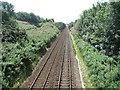 NO9296 : Railway, Portlethen by Richard Webb