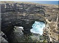 HY3834 : Kilns of Brin-Novan, Rousay, Orkney by Claire Pegrum