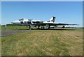 NY4861 : The Avro Vulcan Bomber at the Solway Aviation Museum by Walter Baxter