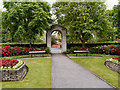 SJ3384 : Memorial Garden, Port Sunlight by David Dixon