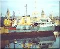 NJ9406 : Oil Boats in Aberdeen by Colin Smith
